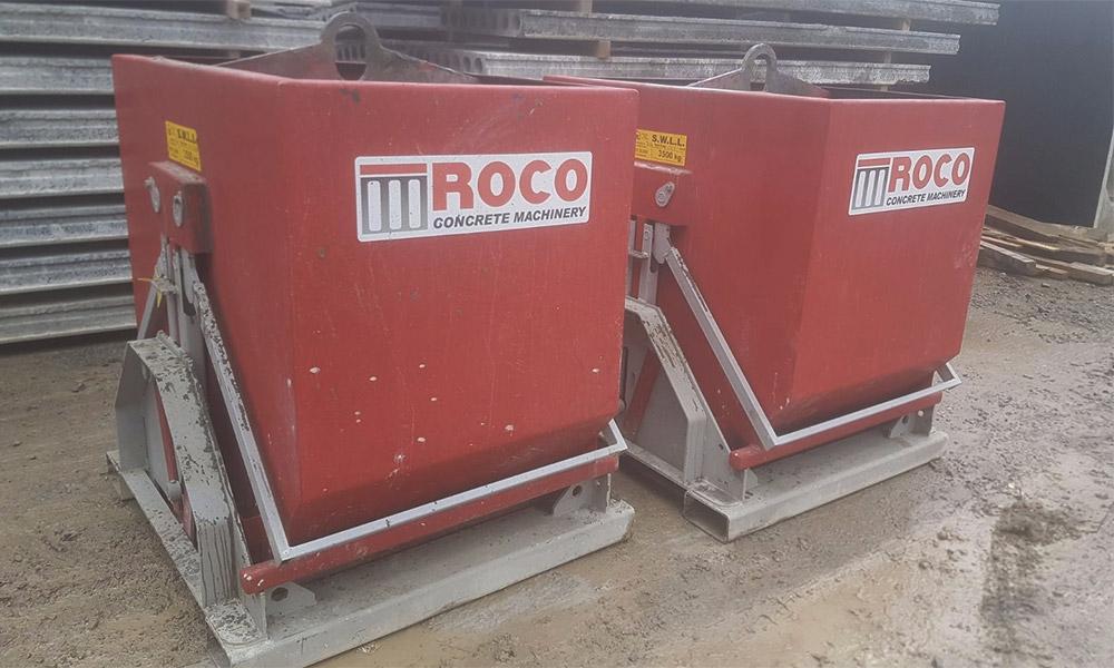 Concrete Distribution and Handling – ROCO - Concrete Machinery